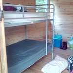 Other single bunk bed in lodge.