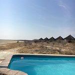 Honeymoon chalet and pool