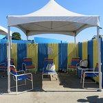 Rented Cabana