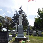 Jennie's memorial is in Evergreen cemetery, not far from the home where she was killed.