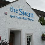 The Swan Hotel sign