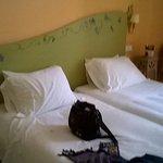 nuestra habitacion a la llegada al hotel