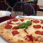 Pizza con Pepperoni