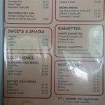 Malagasy Cafe menu