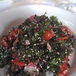 red kale salad