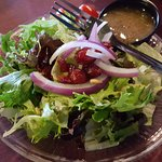 Dinner Salad with Sweet Onion dressing