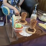 Children's Willy Wonka afternoon tea