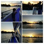 Enjoy watching the sunset cruising Fort Lauderdale on the yacht