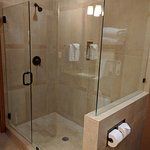Shower in King mini-suite
