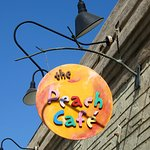 The Peach Cafe is a colourful friendly place (26/Jul/16).