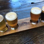 Come in for a flight of fresh beer!