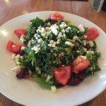Mediterranean Quinoa Salad-very filling!