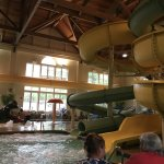 the small indoor waterpark