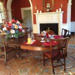 A beautiful breakfast is served at Belle Grove.