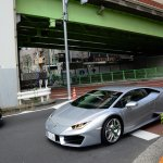 You see an amazing number of very expensive cars in this part of Tokyo!