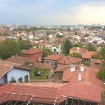 A beautiful view of Plovdiv from one window