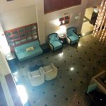 Main lobby from the 3rd floor to the left, away from the food area.