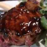Steak with onion