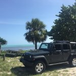 Pulled aside at one of the state parks in the keys.