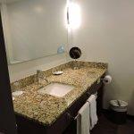 Salle de bain d'une chambre urbaine