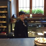 Francesca at the Frount Desk. Very professional and personable! Thank you Francesca!