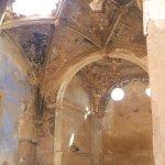 Iglesia de San Martín. Arco y bóveda destrozada por las bombas