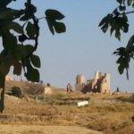 Antiguo Seminario desde el pueblo viejo de Belchite
