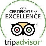 Certificat excellence TripAdvisor 2016 Massage a Paris