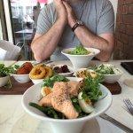 tapas and salad