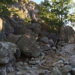 stone trail steps