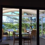At the Coogee Verandah, Coogee Legion Club. View of Coogee Beach .