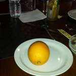 This is what you get when you order 'Fruit of the Day' from the half board menu