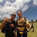 夏威夷跳傘之旅照片