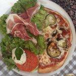 Demi-pizza salade : Une tuerie !