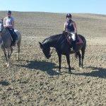 A cavallo della Val d'Orcia