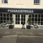 Pizza Express after their fabulous transformation!