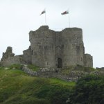 Criccieth Castle from Room 24