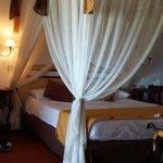 Zimmer im Bungalow am Strand