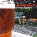 pint in the garden