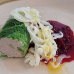 """This is the rabbit paté, and it was just OK; it was the only """"miss"""" in two delicious meals"""