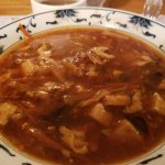 Hot and Sour soup wins on consistency and flavor