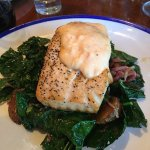 Salmon- with delicious Tuscan Kale