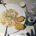 schrimp and pasta