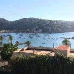 View of Port de Soller bay from room 404