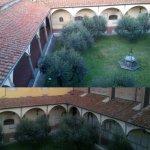 Il primo chiostro rinascimentale a Prato