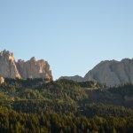 Vista dall'hotel - Dolomiti