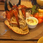 Lovely shared crab lunch