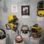 History of Diving Museum - Helmets 1