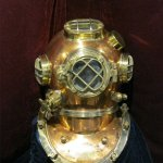History of Diving Museum - Helmet