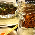 [Left] Bulgogi [Right] Spicy Pork